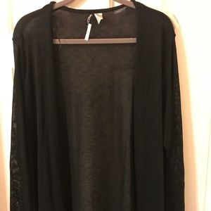 H&M Divided black cardigan